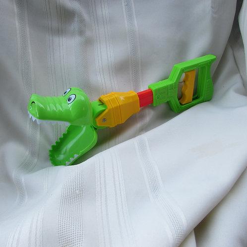 Chomping alligator