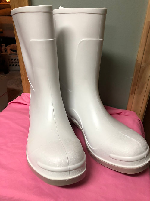 White Rubber Boots - Signed by P'Maw