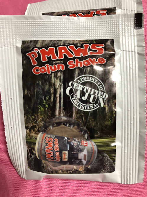 P'maws Cajun Shake Travel Packets (2)