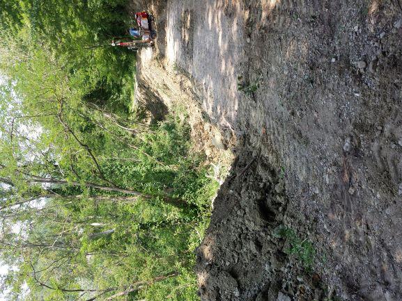 Fase di indagine geologica