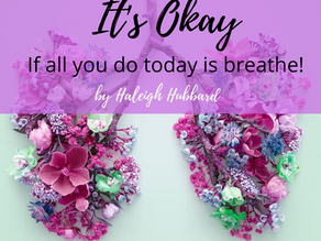 Sometimes You Need to Breathe?