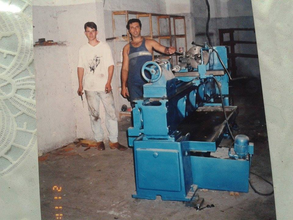 meu torno na epoca do URV 1993