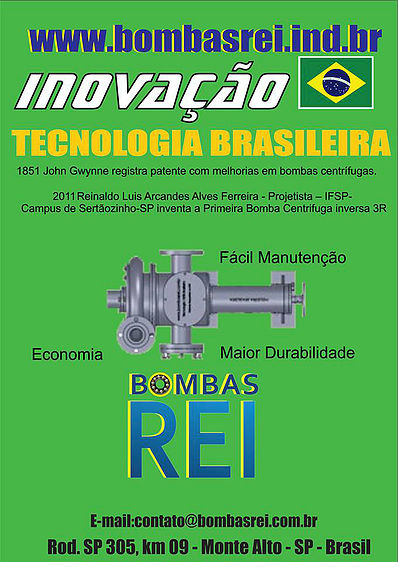 Bombas_Rei_Brasil_inovação