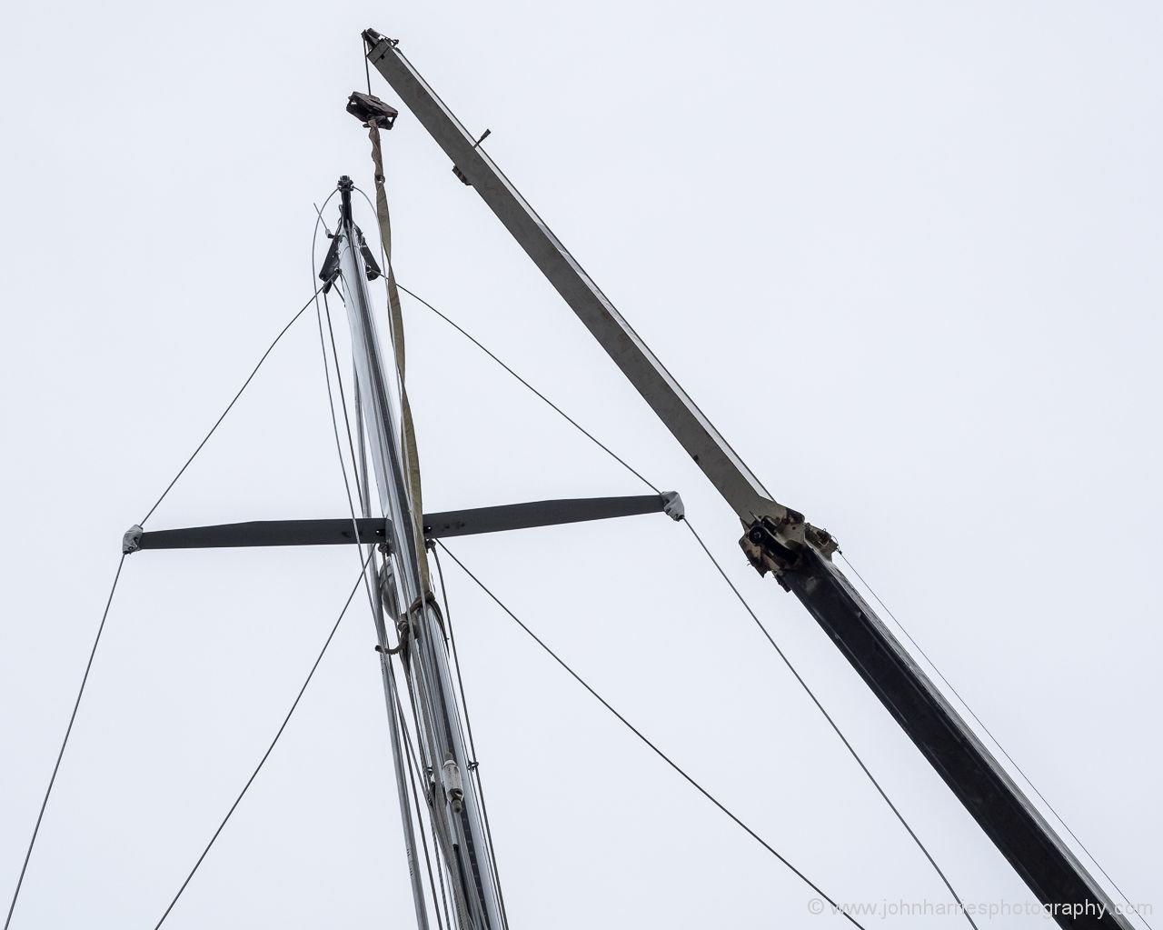 Mast Raising or Lowering