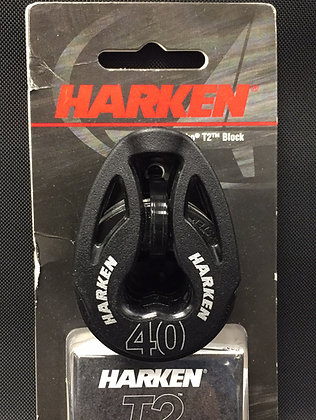Harken 40mm Single T2 Soft Attach Block