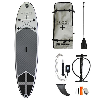 "Cross SUP 10' 7"" Inflatable Paddle Board"