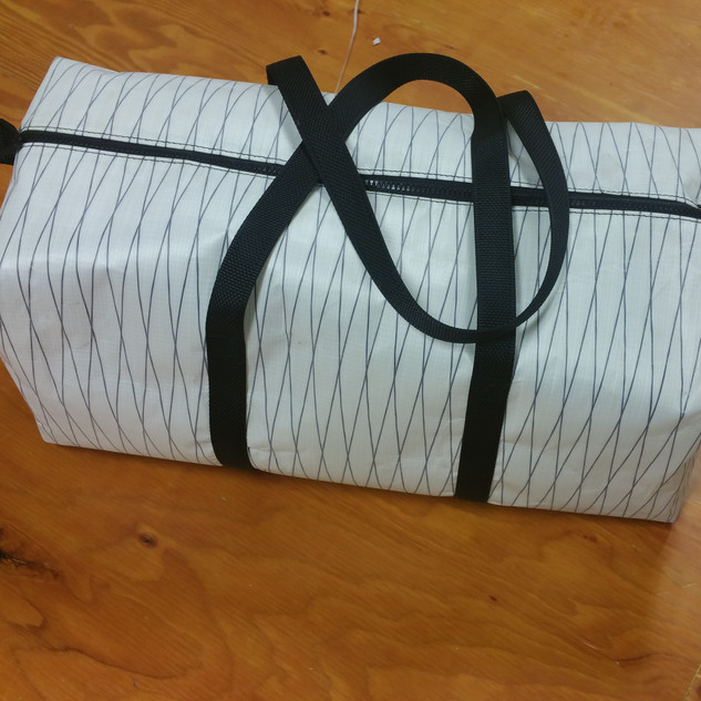 Laminate Zebra Bag 65$