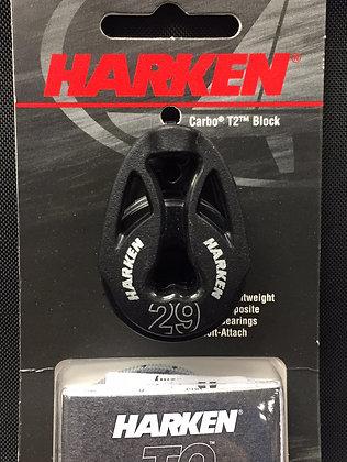 Harken 29mm Double T2 Soft Attach Block