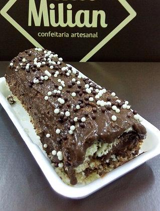 Rocambole Caseiro de Chocolate