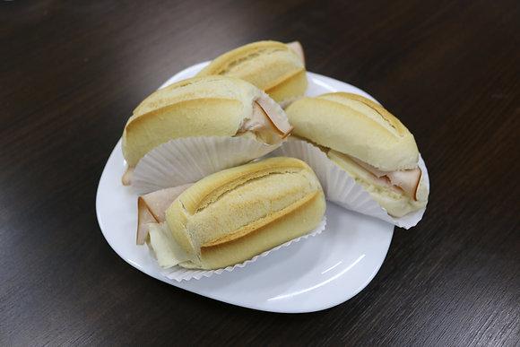 Mini Lanche no Pão Francês