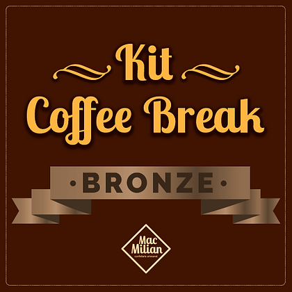 KIT Coffee Break - BRONZE P/ 20 pessoas
