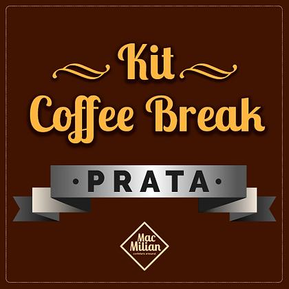 KIT Coffee Break - PRATA P/ 20 Pessoas