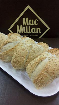 Mini Pão Francês Gergelim 25g