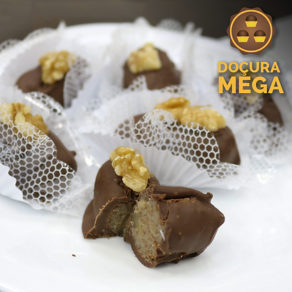 Camafeu Nozes Banhado no Chocolate – 20g (10 uni)