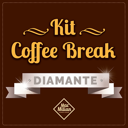KIT Coffee Break - DIAMANTE - P/ 20 Pessoas