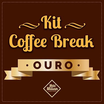 KIT Coffee Break - GOLD P/ 20 pessoas