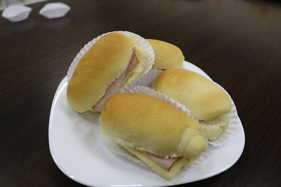 Mini Lanche no Pão de Leite