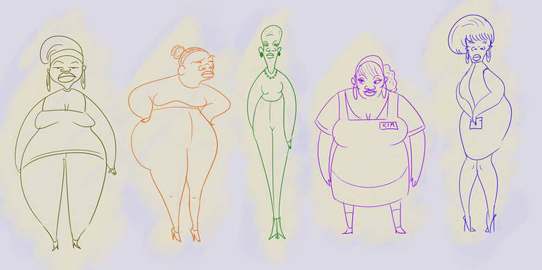 character design sketches
