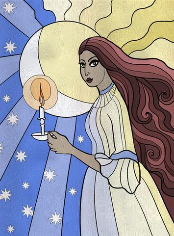Sonia Dora the witch