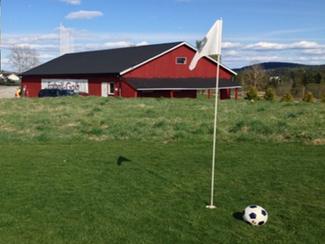 Prøv fotballgolf i høst!