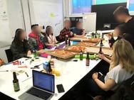 LCC students participating collaborative design workshop