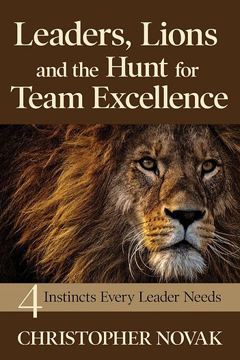 Leader Lions and the Hunt for Team Excel