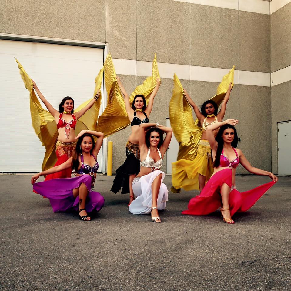 Belly Dance performance class Richmond h