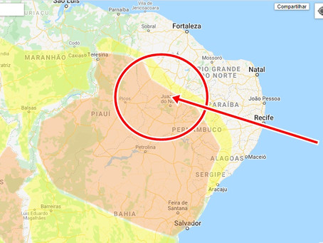 Alerta Laranja, Chuvas Intensas: Nordeste do Brasil Ativo por 20 horas .