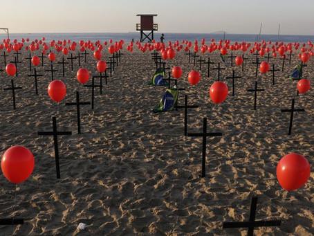 Brasil passa de 3 milhões de casos e 100 mil mortes, diz consórcio - Covid