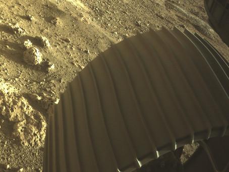 Primeiras Imagem do Planeta Marte, em cores do o robô Perseverance.