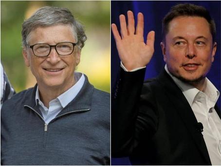 Elon Musk ultrapassou Bill Gates e acaba de se tornar a segunda pessoa mais rica do mundo.