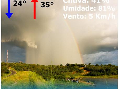 Choveu em Cedro-CE