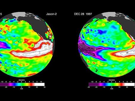 Tenha cuidado! El Niño ainda está crescendo como Nasa prevê 'caos tempo' para 2016 como fenô