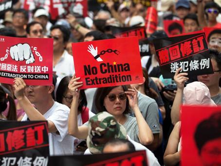 Veja #AOVIVO os protestos nas ruas de Hong Kong contra o projeto de lei da extradição.