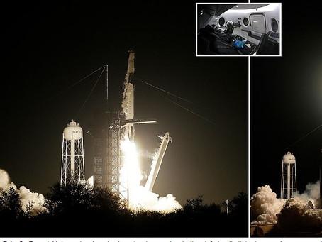 Cápsula da SpaceX chegou à Estação Espacial Internacional