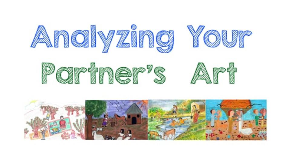 Tutorial: Analyzing Your Partner's Art