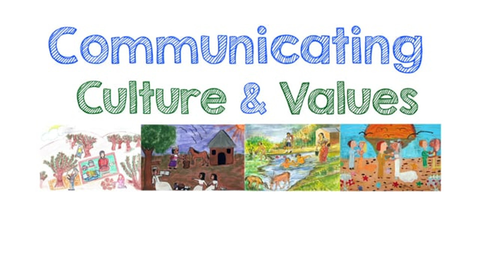 Tutorial: Communicating Culture and Values