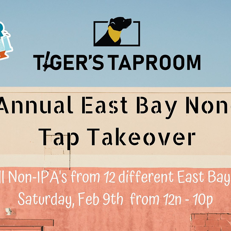 Beer Week - 4th Annual East Bay Non-IPA Tap Takeover