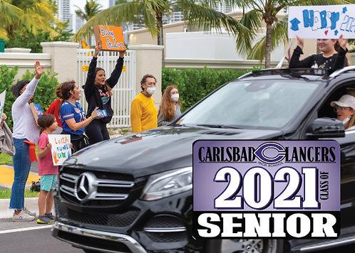 Car Magnet CHS 2021
