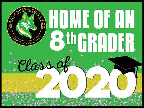 CHMS CLASS OF 2020 YARD SIGN