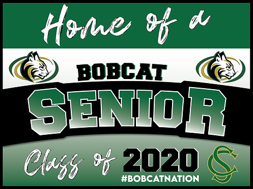 SAGE CREEK SENIOR YARD SIGN