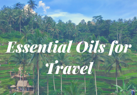 Top 8 Essential Oils to Travel: Long Haul Flight Edition