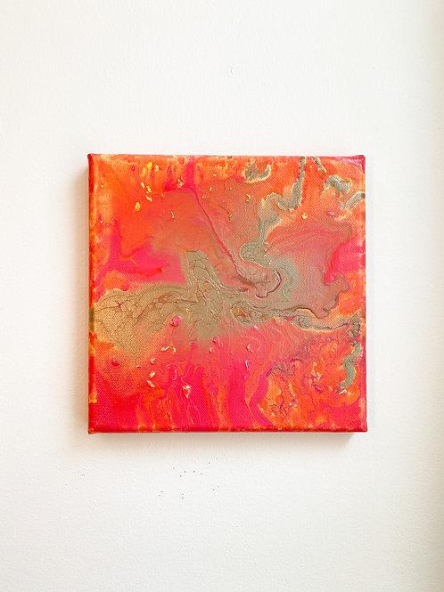 "8"" x 8"" Original Painting: Golden Hour"