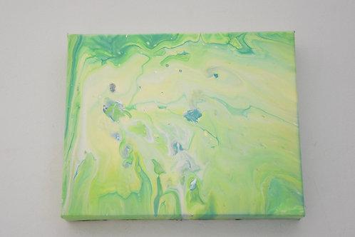 "8"" x 10"" Original Painting: Neon Dreams"