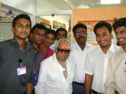 with renowned Tamil cinema musician Shri. Vishwanathan