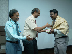 Award from Associate Dean and Prof and HOD of Nephrology