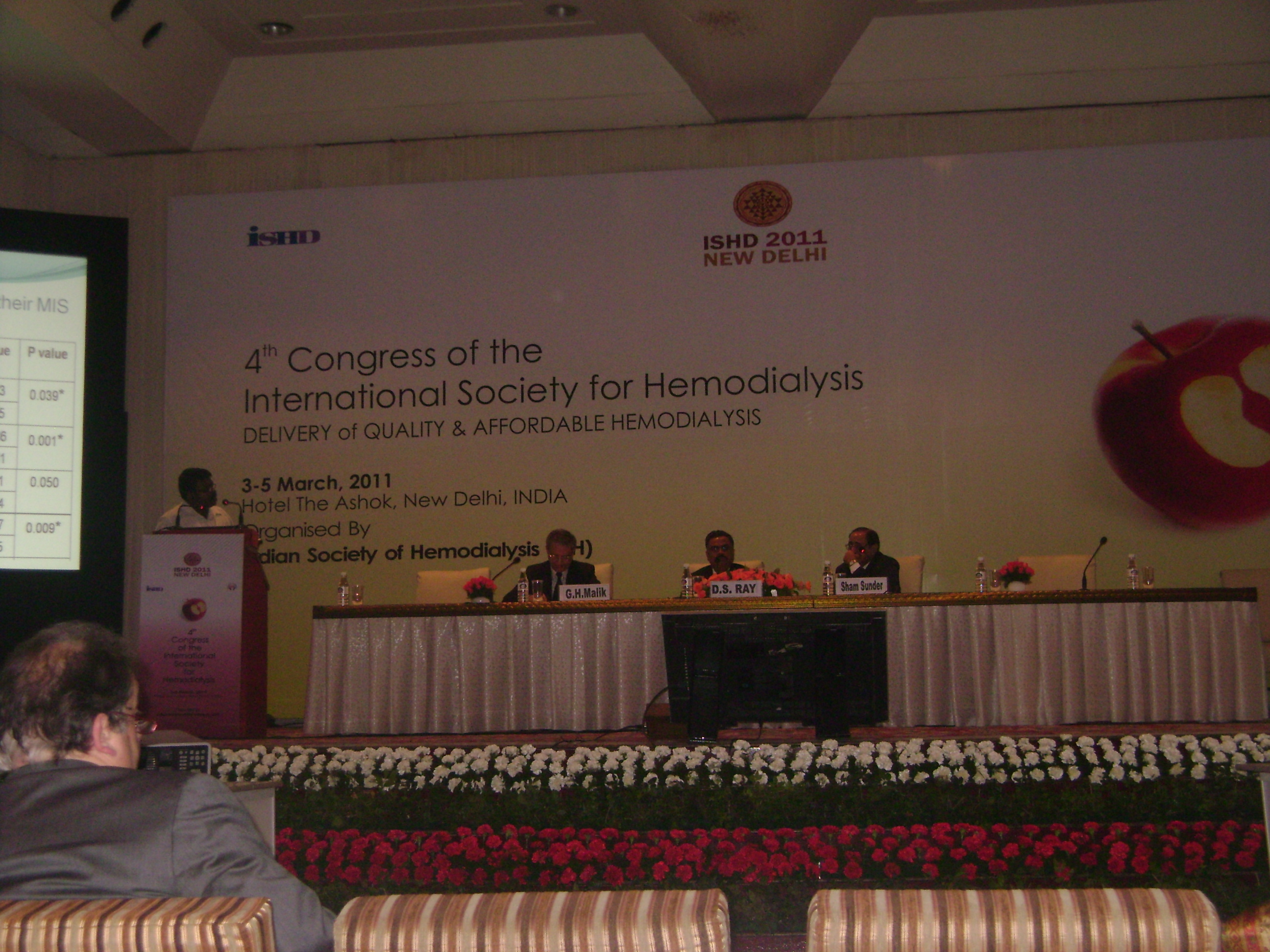 Paper Presentation in International Hemodialysis Conference