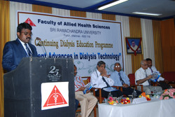 Organizing Secretary, Dialysis Conference