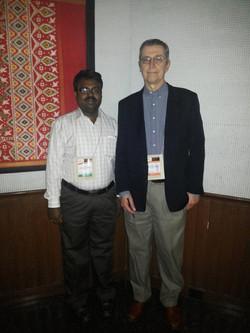 Photo taken with Prof Dr John T Daugirdas, Author of famous Handbook of Dialysis