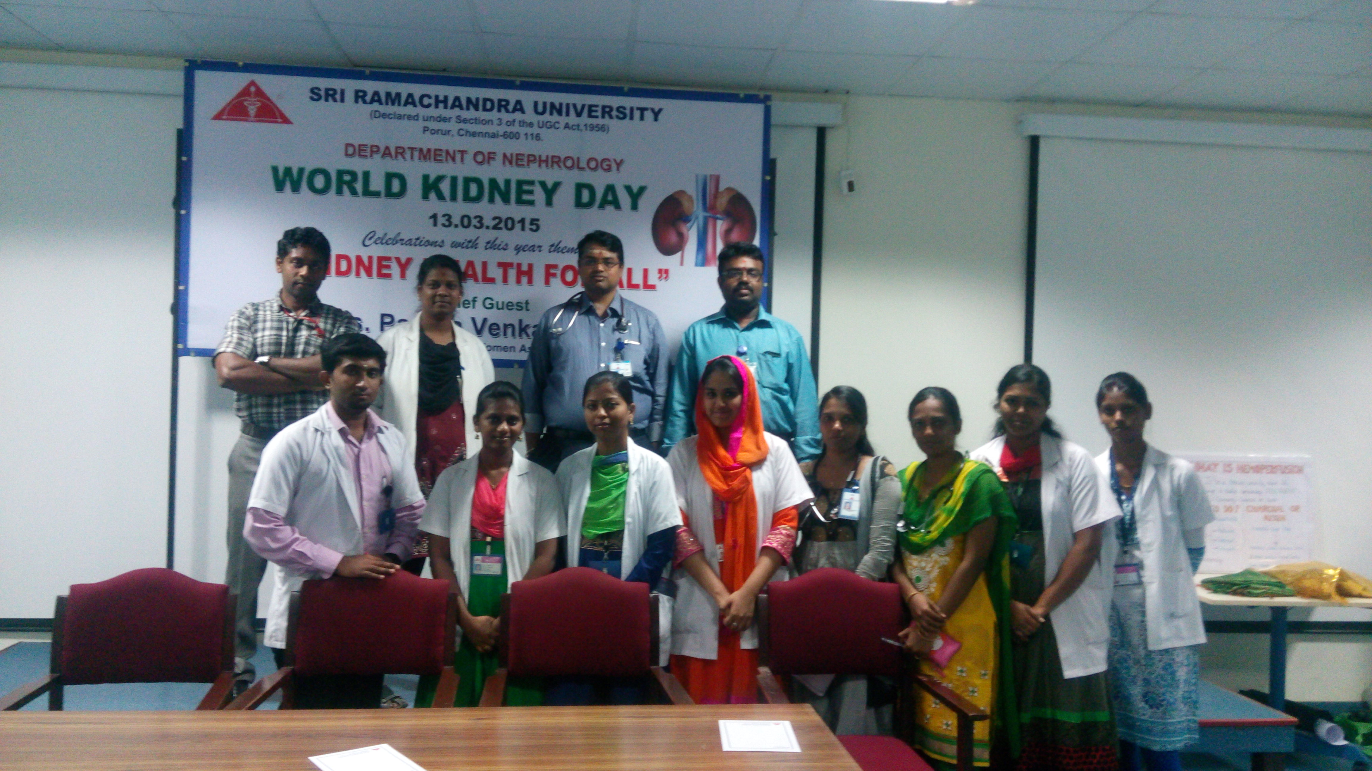 World Kidney Day celebration